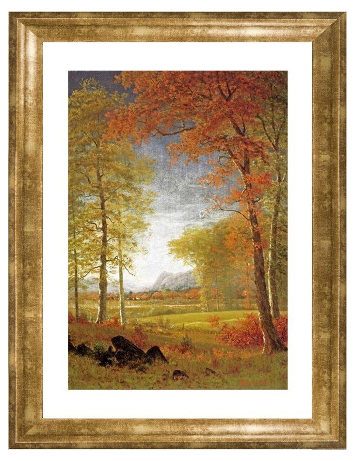 Albert Bierstadt, Autumn in America