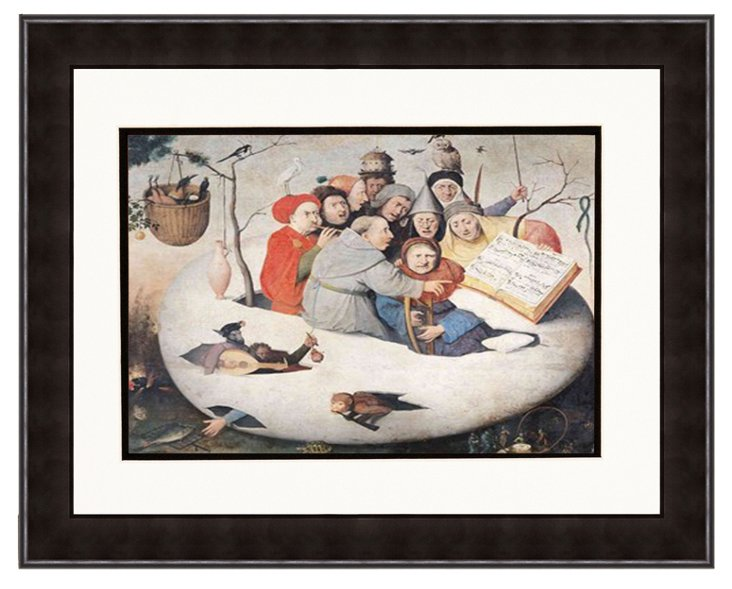 Hieronymous Bosch, Concert in the Egg