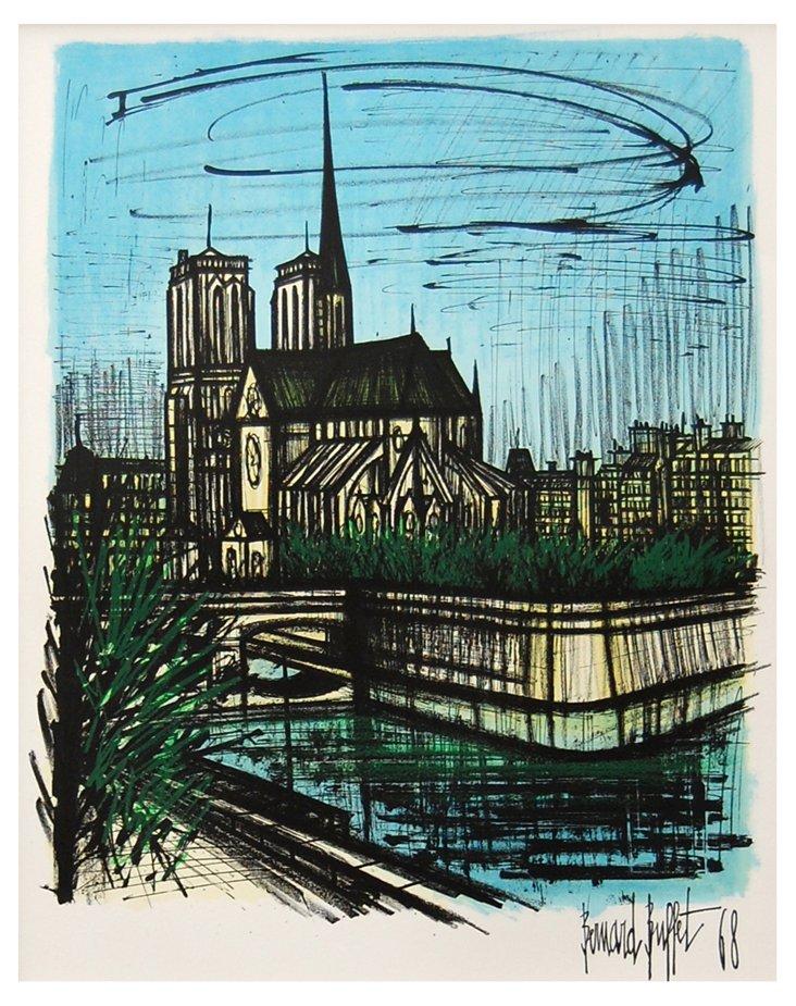 Bernard Buffet, Notre Dame de Paris