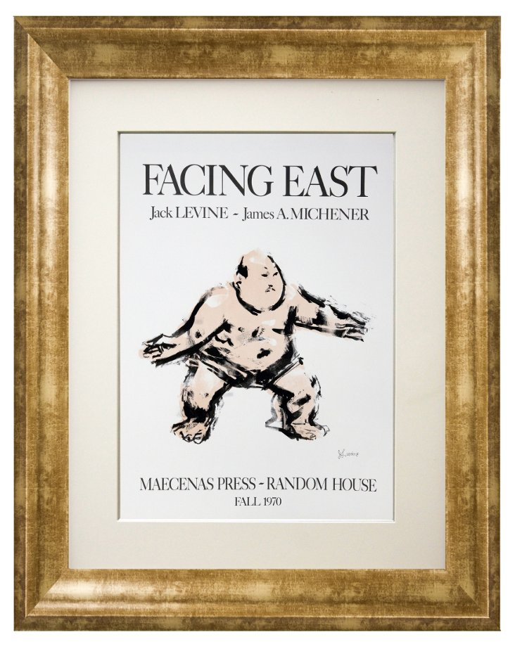 Jack Levine, Facing East