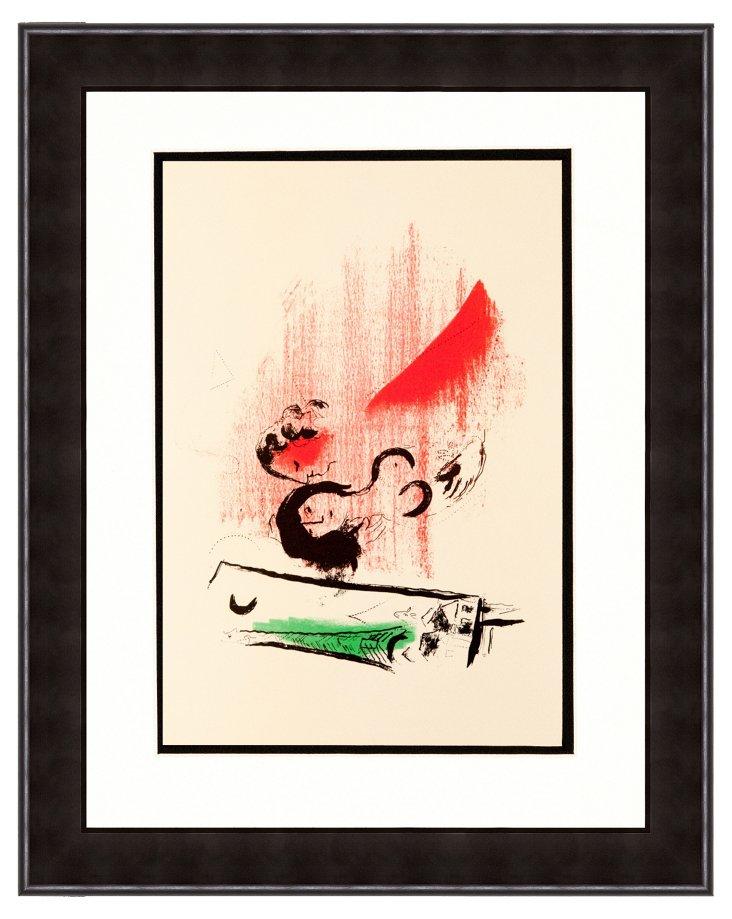 Chagall, La Tour Eiffel Verte