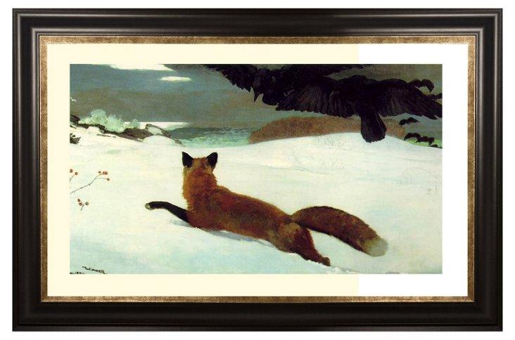 Homer, The Fox Hunt