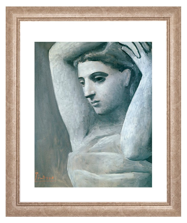 Picasso, Bust of a Woman, Arms Raised
