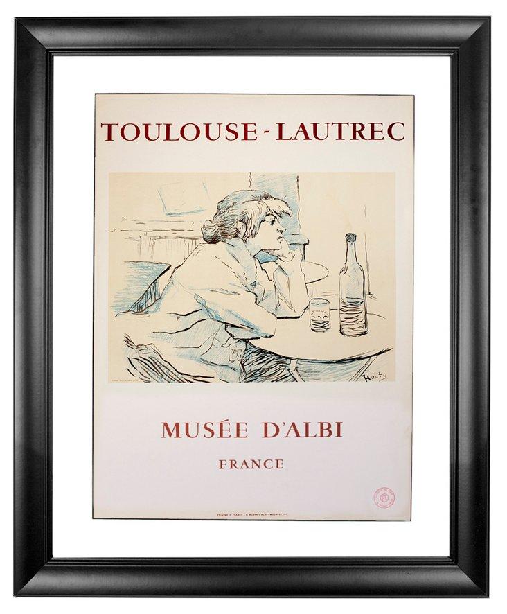 Toulouse-Lautrec, La Buveuse