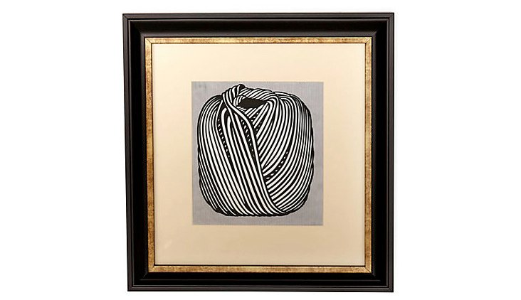 Lichtenstein, Ball of Twine, 1963