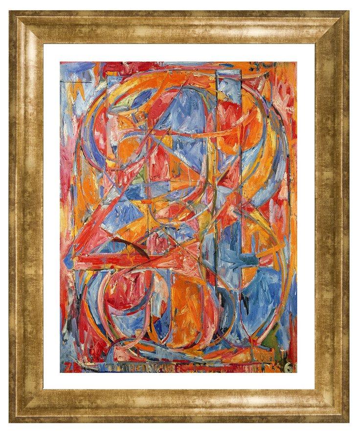 Jasper Johns, 0 Through 9, 1961