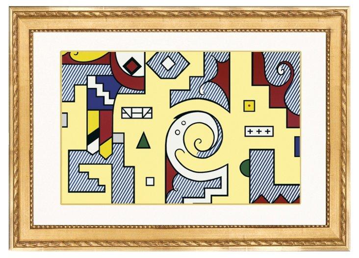 Roy Lichtenstein, Composition II, 1979