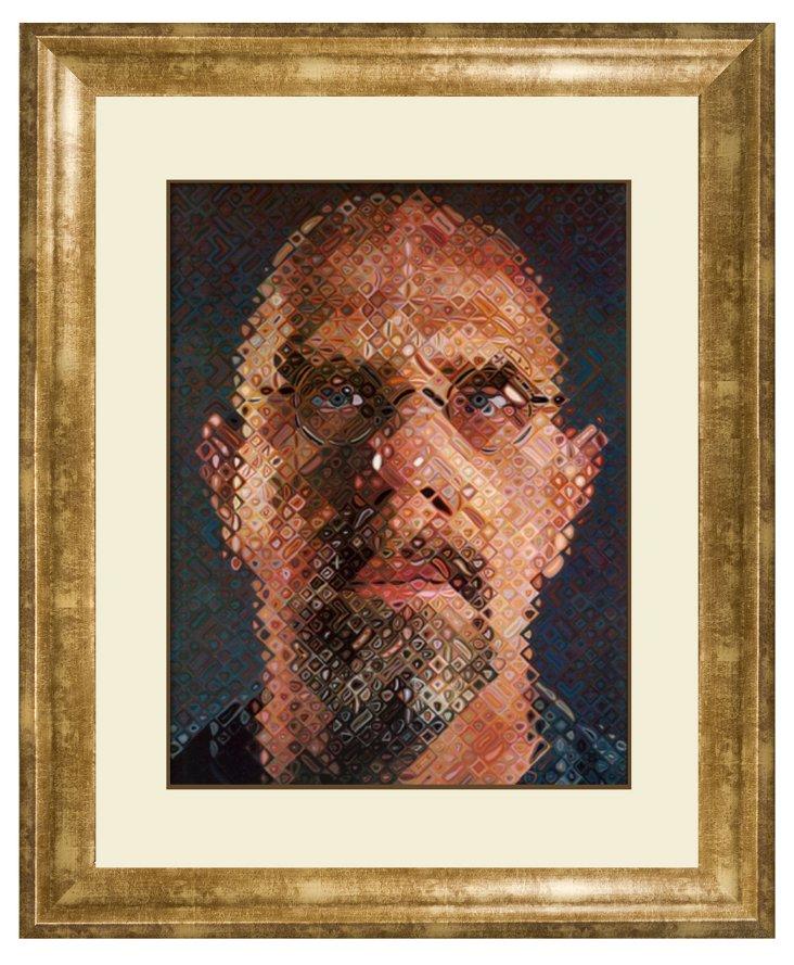 Chuck Close, Self-Portrait, 2000-2001