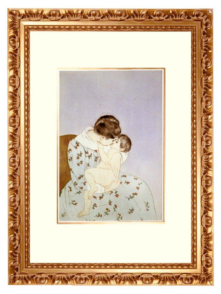 Cassatt, Mother's Kiss, 1891