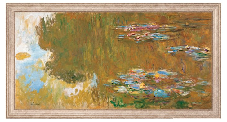Monet, The Water Lily Pond