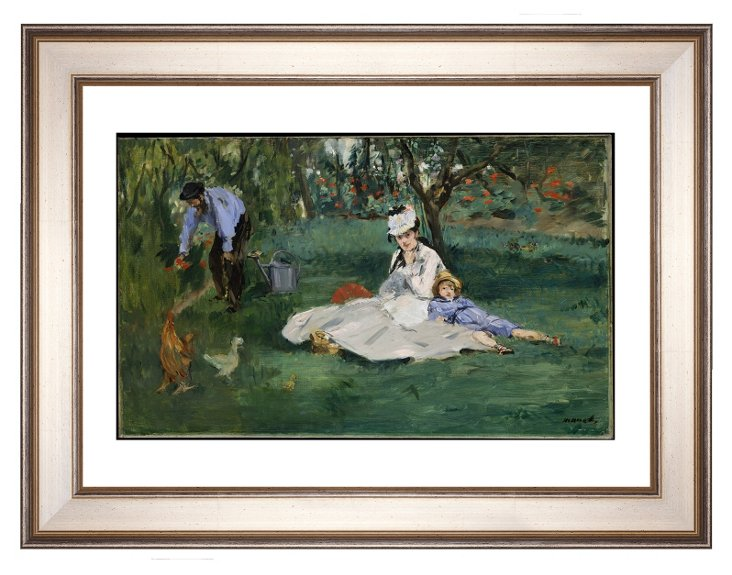 Manet, The Monet Family at Argenteuil