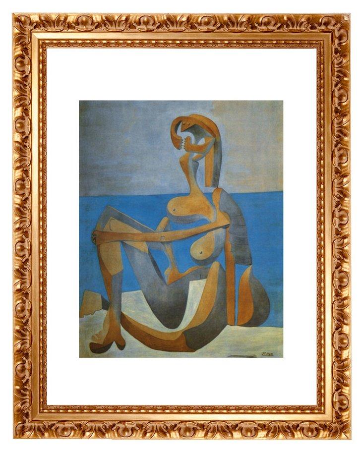 Picasso, Baigneuse Assise au Bord, 1930