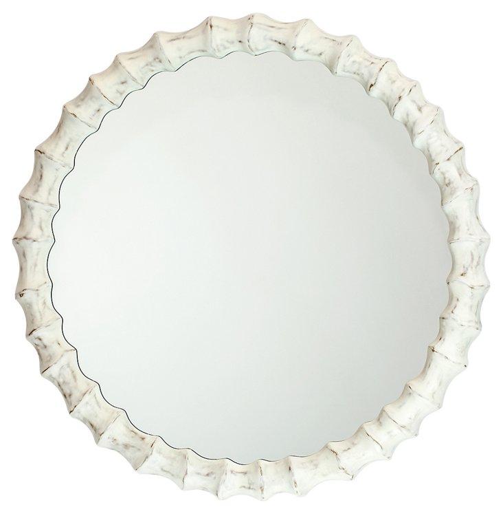 Redding Wall Mirror, White