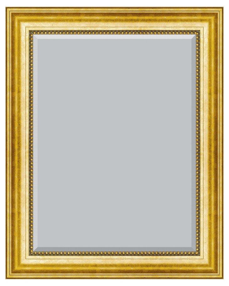 Anika Wall Mirror, Gold