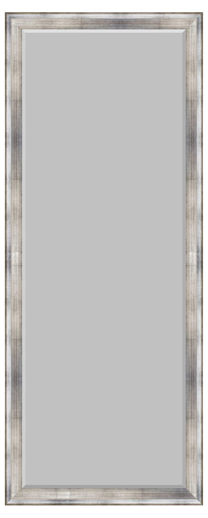 Soren Floor Mirror, Silver