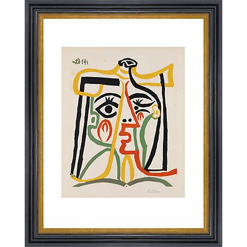 Picasso, Tête de Femme, 1962