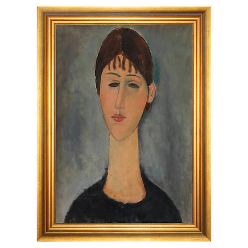Modigliani, Portrait of Mme Zborowska