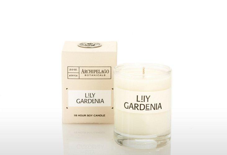 S/4 Votives, Lily Gardenia
