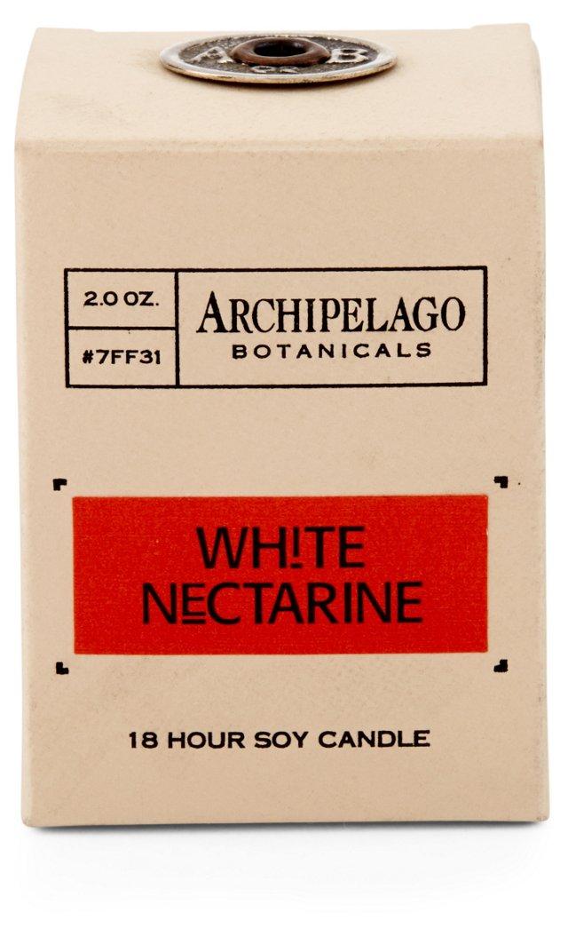 S/4 Votives, White Nectarine