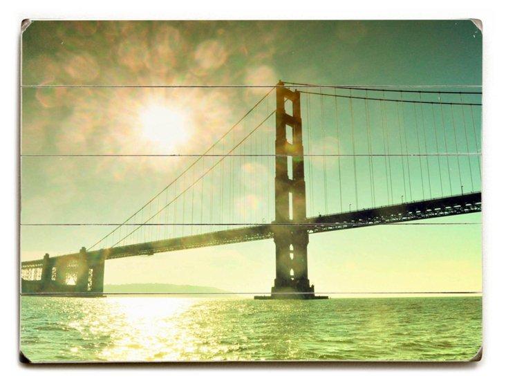 Amazing Bridge Wall Sign, Multi