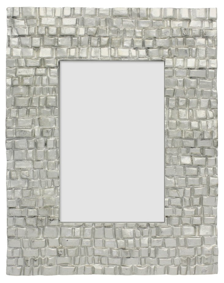 Brick Road Frame, 4x6, Silver