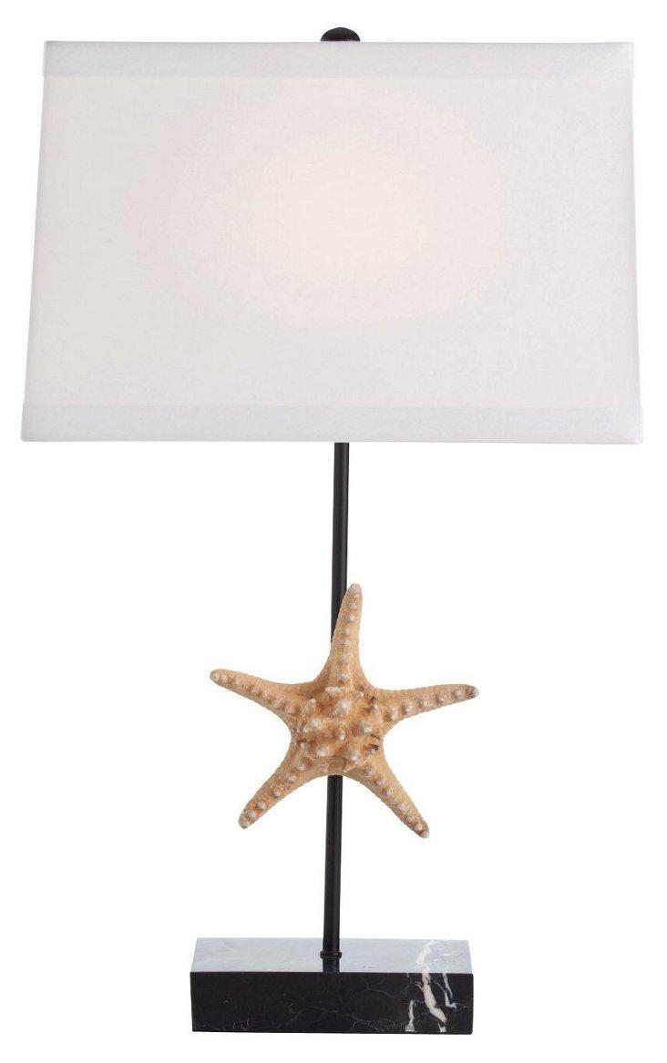 Tess Natural Starfish Lamp