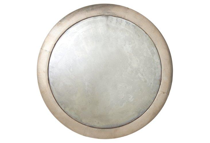 Kesler Silver Mirror Plaque, Medium
