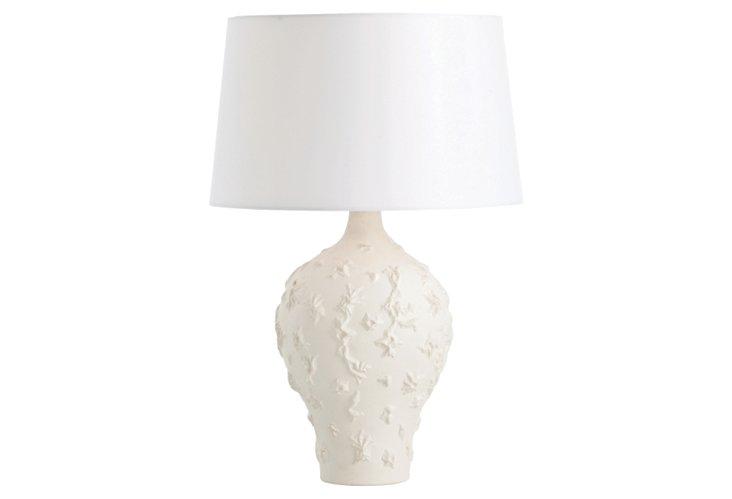 Tallulah Matte White Porcelain Lamp