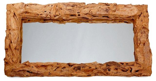 Driftwood Mirror, Natural