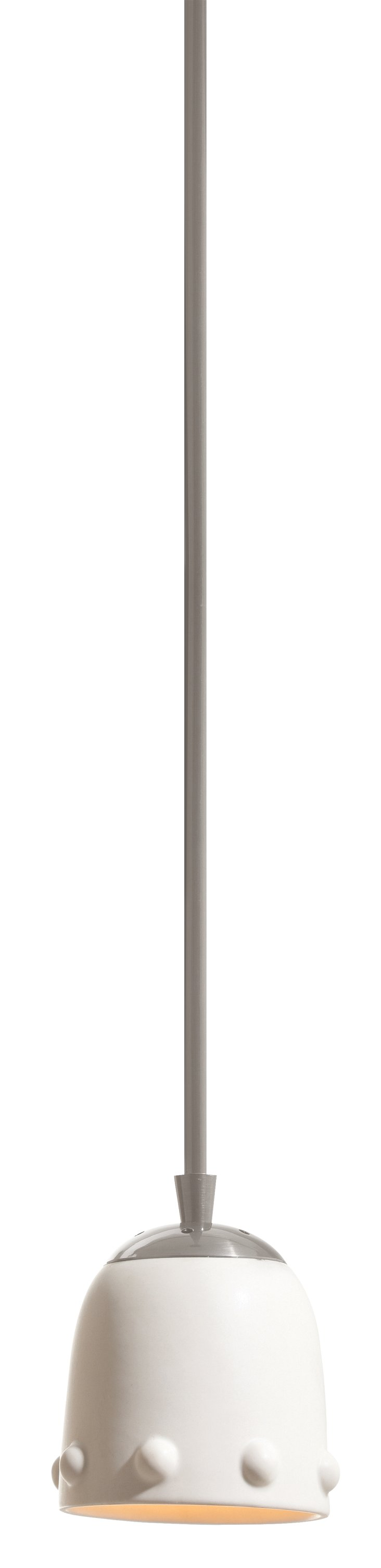 Dots Single Pendant, White