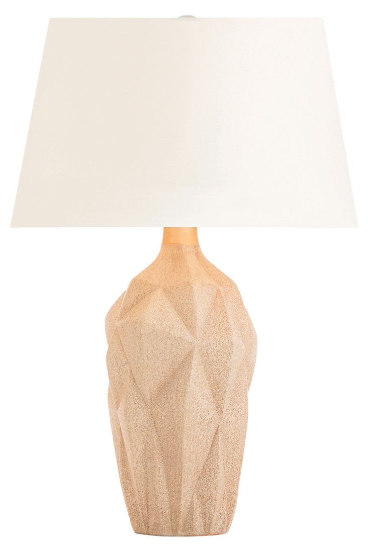 Felicity Table Lamp, Rose Gold