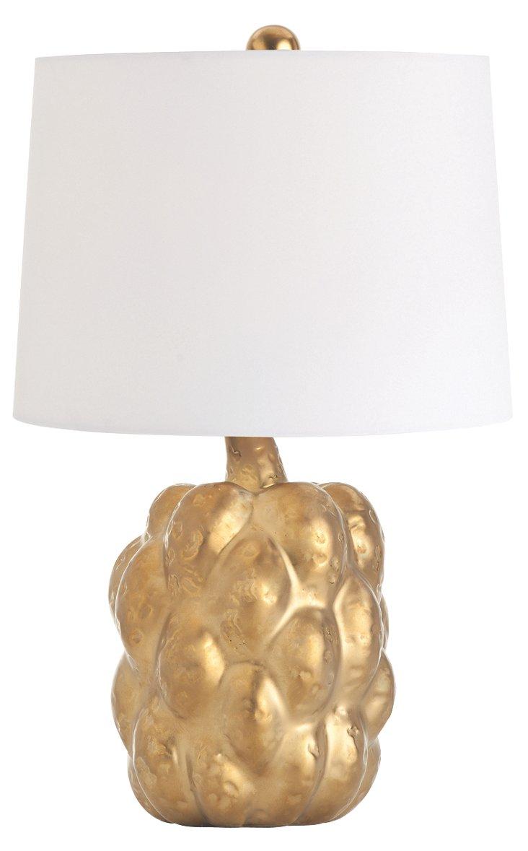 Verner Accent Lamp, Gold