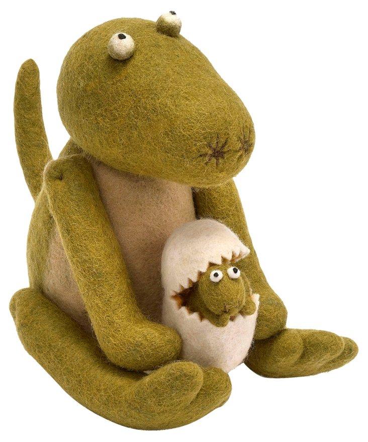 Dinosaur with Egg