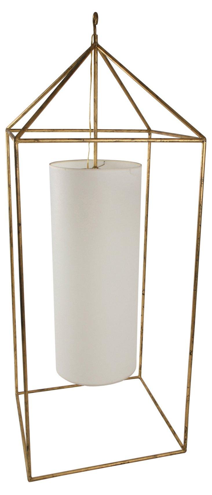 Gold Villa Lantern