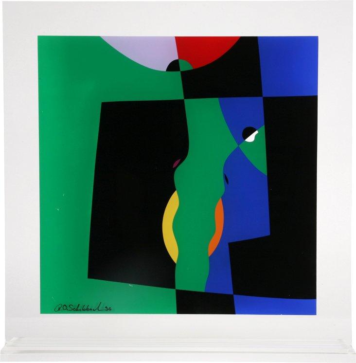 R.O. Schabbach Perspex Art