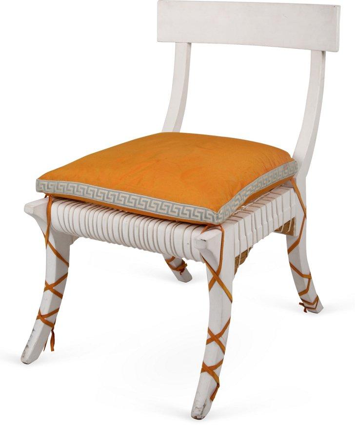 Italian Klismos Key Chair