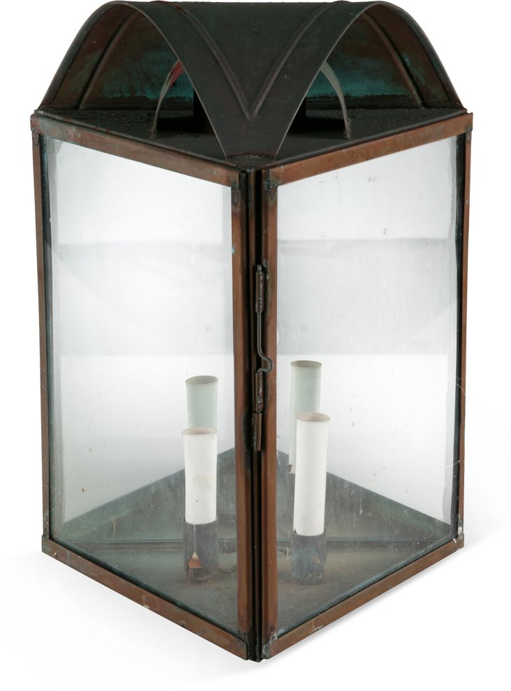 Copper 2-Light Wall Fixture