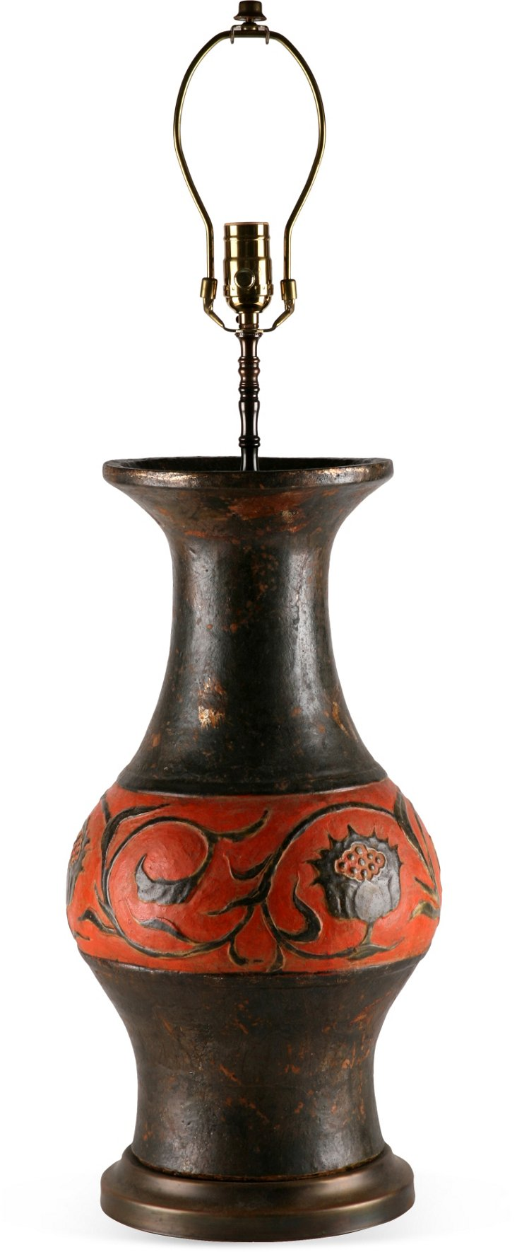 European Etruscan-Style Lamp