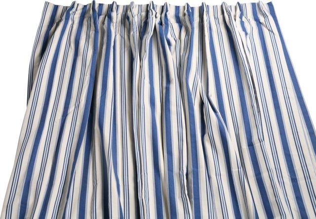 Paul S. Maybaum Striped Curtain Panel