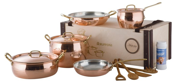12-Pc Historia Copper Set