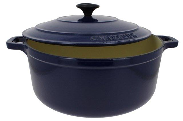 5.5 Qt Casserole w/ Lid, Blue