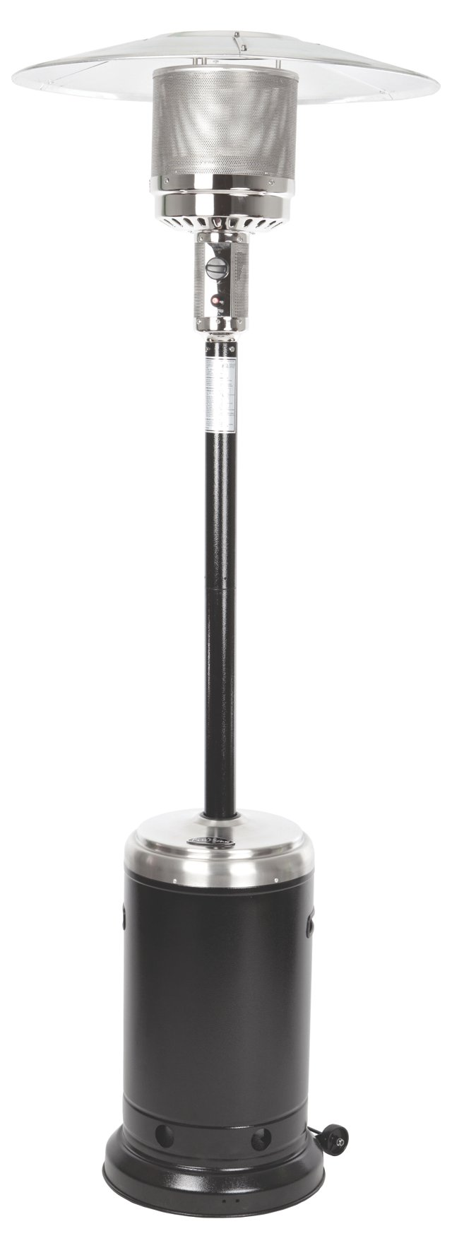 "86"" Commercial Patio Heater, Black"