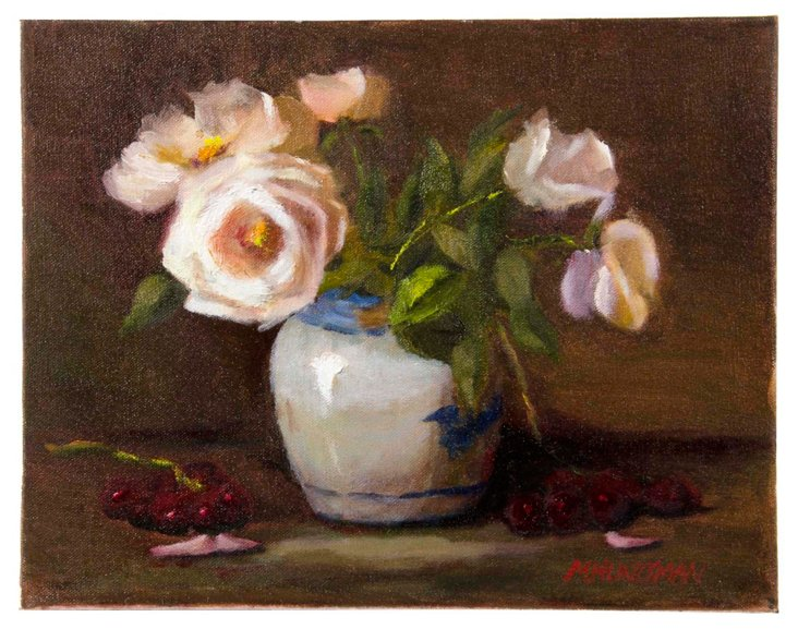 Floral Oil Painting III