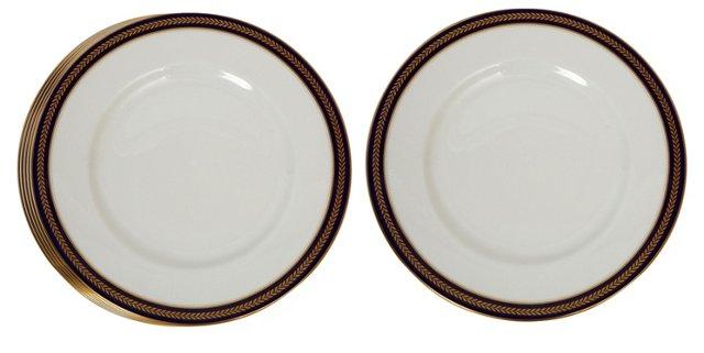 Porcelain Plates, Set of 6