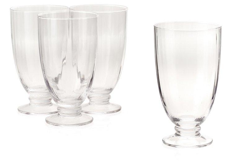 S/4 Aldrich Glasses, Clear