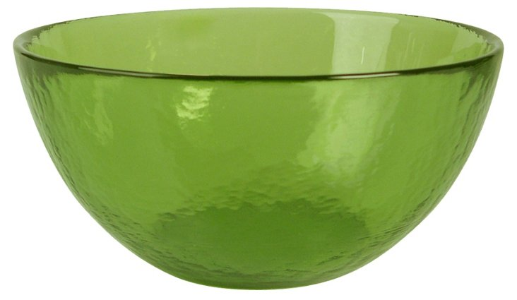 S/4 Colby Cereal Bowls, Green