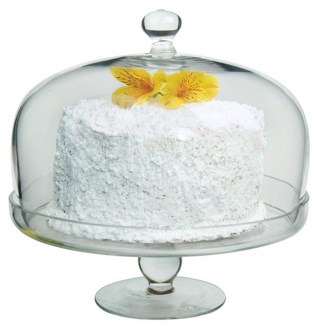 Simplicity Cake Stand w/ Dome