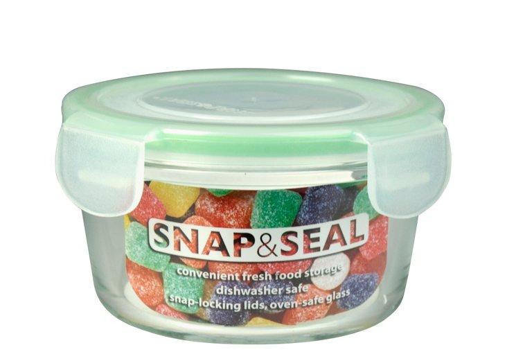 S/4 Round Snap & Seals, 12 Oz