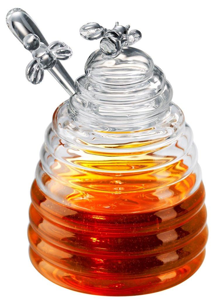 Bumblebee Honey Pot & Dipper