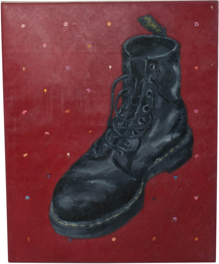 Boot Oil Painting II